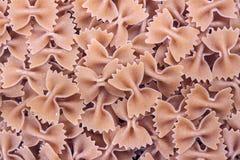 Farfalle pasta Royalty Free Stock Photos