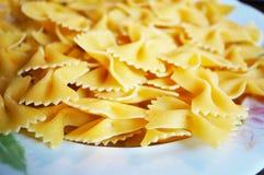 Farfalle pasta Stock Photography