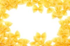 farfalle surowy Zdjęcia Stock