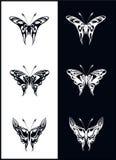 Farfalle - vettore Immagini Stock Libere da Diritti