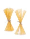 Farfallino della pasta italiana degli spaghetti Immagine Stock Libera da Diritti
