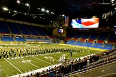 NDSU Marching All Star Band royalty free stock photography