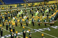 NDSU All Star Marching Band royalty free stock images