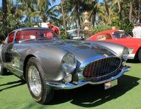 fari e griglia del tdf di Ferrari 250 degli anni 50 Fotografie Stock