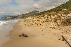 Faria海滩国家公园 免版税图库摄影