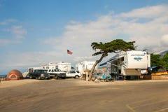 Faria Beach State Park-_Ventura, CA_USA lizenzfreies stockbild