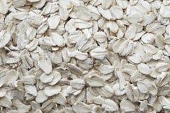 Farina d'avena, vista superiore Struttura e fondo della farina d'avena Concetto sano di cibo immagini stock