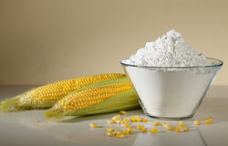 Farina di cereale Fotografie Stock Libere da Diritti