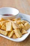 Farina di fave fritta Fotografie Stock