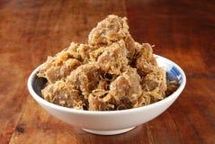 Farina di fave secca della soia Fotografie Stock
