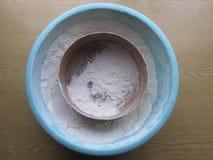 Farina di frumento Fotografia Stock