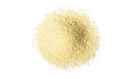 Farina di mais gialla Fotografia Stock
