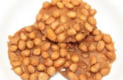 Farina fritta con le arachidi Immagine Stock Libera da Diritti