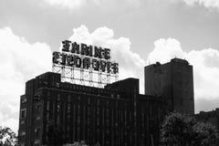 Farine cinque rose & nuvole Fotografia Stock Libera da Diritti