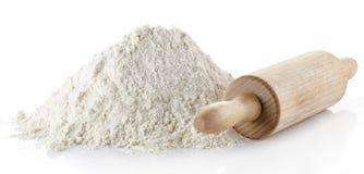 Farine de blé Photographie stock libre de droits