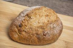 Farine de blé avec du pain chaud frais Photos libres de droits