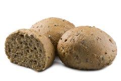 farine de blé entier de pain Images libres de droits