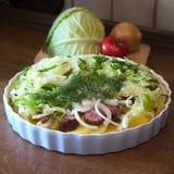 Farine de légumes secs Image libre de droits