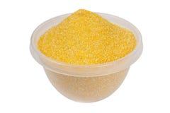 Farine de maïs Photographie stock libre de droits