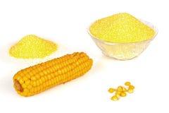 Farine de maïs Image stock