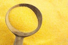 Farine de maïs Images stock