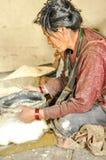 Farine de maïs au Népal Photos stock