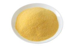Farine de maïs sèche photo libre de droits