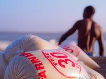 Farine de manioc Images libres de droits