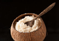 Farine de noix de coco Gluten-gratuite Photo libre de droits