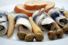 Farine de poisson Image stock