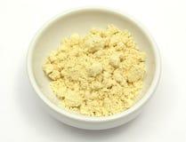 Farine de soja photographie stock
