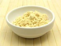 Farine de soja image libre de droits