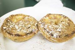 Farinha da pastelaria de Belém Fotos de Stock