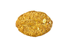 Farinha de aveia uma das cookies Foto de Stock Royalty Free