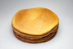 Farinha e massa de pão Imagem de Stock