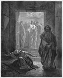 Fariséen och publicanen Arkivbilder
