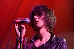Faris Badwan, singer of The Horrors Stock Photos