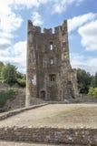 Farleigh Hungerford城堡南西部塔 库存照片