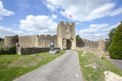 Farleigh Hungerford Castle Eastern Gatehouse stock photo