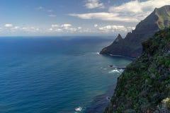Farliga steniga klippor Royaltyfri Fotografi