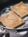 farls масла жаря картошку Стоковые Изображения