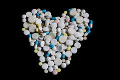 Farmácia da tabuleta da medicina de pils do comprimido Foto de Stock