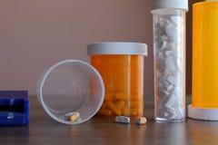 Farmácia home do remédio Fotografia de Stock