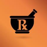 Farmácia, sinal da medicina Fotos de Stock
