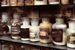 Farmácia velha fotografia de stock