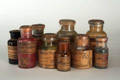 Farmácia vitoriano Fotografia de Stock Royalty Free