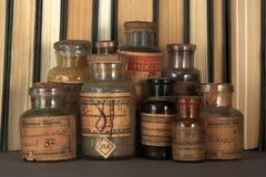 Farmácia vitoriano Fotografia de Stock