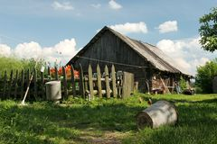 Farm. House in the country Royalty Free Stock Photography