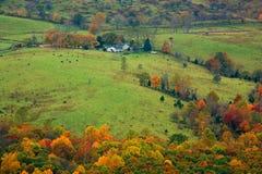 Farm. In Shenandoah Valley in October Stock Photo