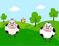 Farm animal. A illustration of farm animal Royalty Free Stock Image
